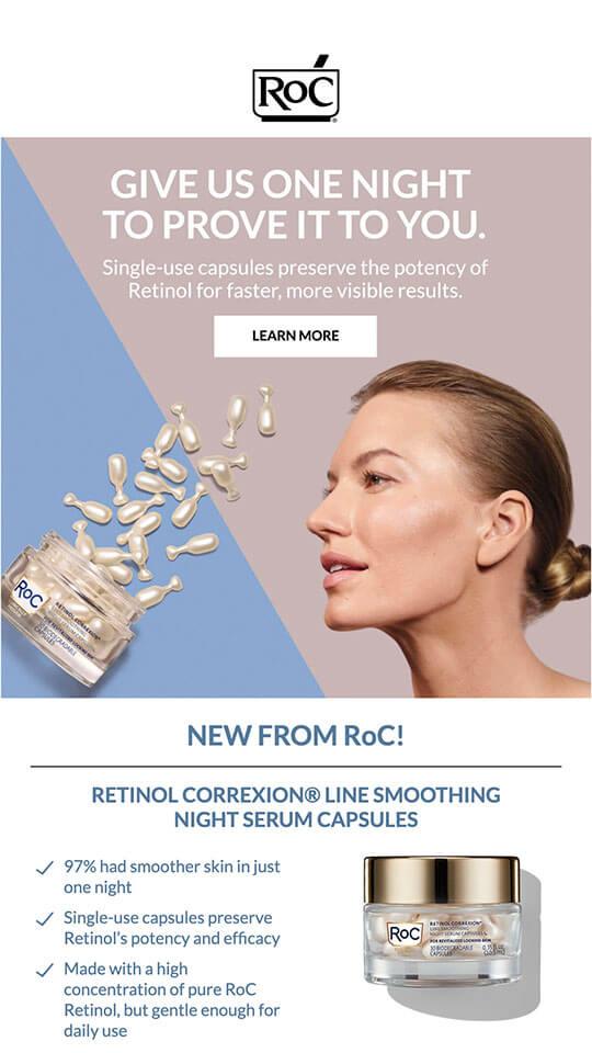 Roc Skincare screen 6